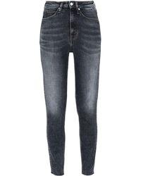 Calvin Klein Denim Trousers - Blue