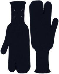 Maison Margiela Handschuhe - Blau