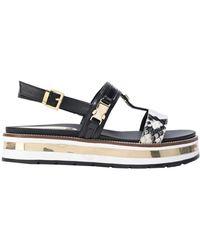 Loretta Pettinari Sandals - Black
