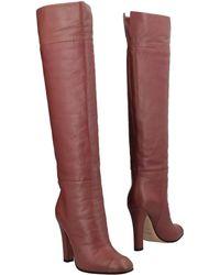 Agnona Boots - Brown