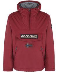 Napapijri Rainforest Winter Jacket - Red