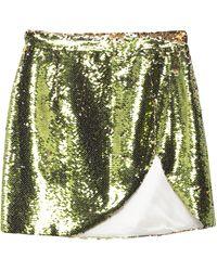 Amen Mini Skirt - Green