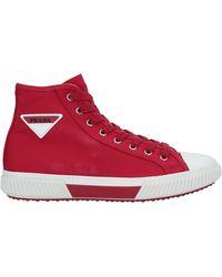 Prada Linea Rossa Sneakers - Rojo