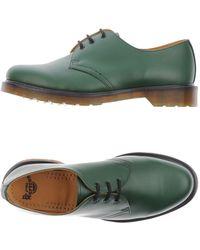 Dr. Martens Chaussures à lacets - Vert