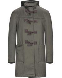 Dondup Overcoat - Multicolor