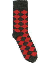 Stella McCartney Short Socks - Red