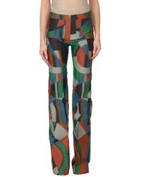 Isa Arfen Casual Trousers - Green