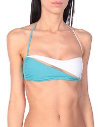 La Perla Bikini Top - Blue