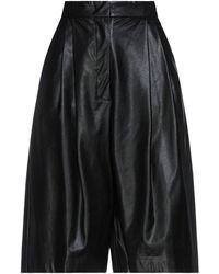 Nude Shorts & Bermuda Shorts - Black
