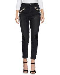 ONLY Pantalon en jean - Noir
