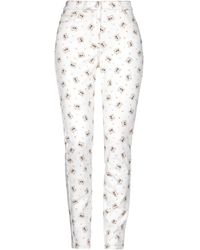Paul & Joe Pantaloni jeans - Bianco