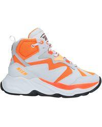 MSGM High-tops & Trainers - Orange