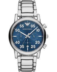 Emporio Armani Armbanduhr - Blau