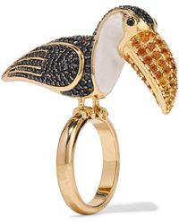 Noir Jewelry Ring - Metallic