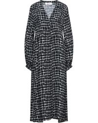 Bagutta Midi Dress - Black