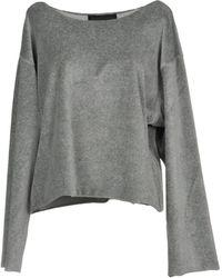 Kendall + Kylie Sweatshirt - Grey