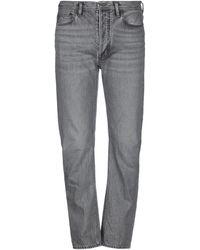 Acne Studios Pantaloni jeans - Grigio