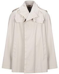 Maison Margiela Overcoat - Natural