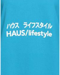 Haus By Golden Goose Deluxe Brand Felpa - Blu