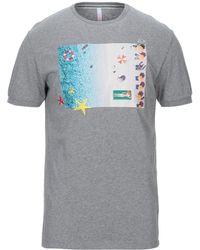 Sun 68 T-shirt - Grey