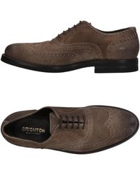 Brighton Lace-up Shoe - Brown