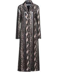 Versace Jeans Couture Overcoat - Grey