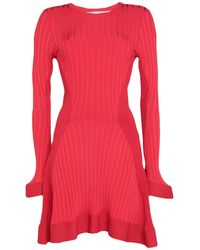 Esteban Cortazar Short Dress - Red