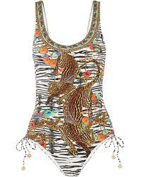 Camilla One-piece Swimsuit - Black