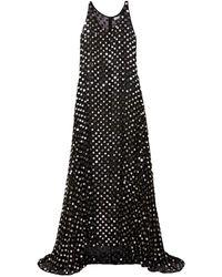 Ashish Long Dress - Black