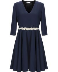 Lanvin Kurzes Kleid - Blau