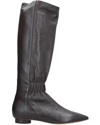 Valentino Botines de caña alta - Negro