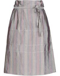 Giorgio Armani Midi Skirt - Grey