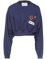 Au Jour Le Jour Sweatshirt - Blue