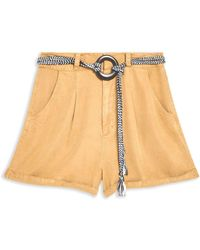 TOPSHOP Shorts - Natural
