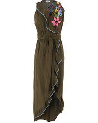 Sensi Studio Short Dress - Green