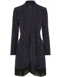 Blazé Milano Overcoat - Blue