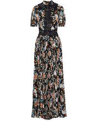 Mikael Aghal Long Dress - Black