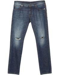Ermanno Scervino Denim Trousers - Blue