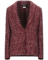 Les Copains Suit Jacket - Red