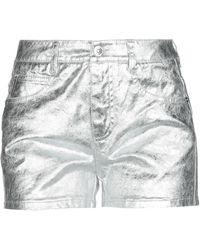 Ermanno Scervino Denim Shorts - Metallic