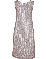 M.V. Maglieria Veneta - Short Dress - Lyst