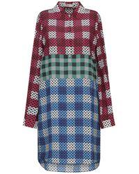 Mary Katrantzou Short Dress - Blue
