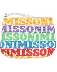 Missoni Pouch - White