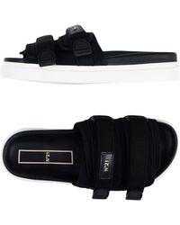 N°21 Sandals - Black