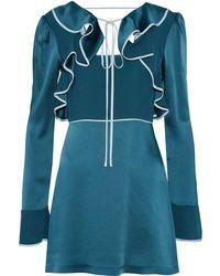 ALEXACHUNG - Robe courte - Lyst