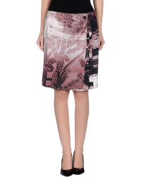 Vivienne Westwood Anglomania - Knee Length Skirt - Lyst