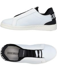 Bikkembergs Low Sneakers & Tennisschuhe - Weiß