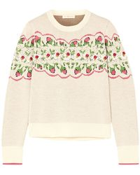 Tory Burch Pullover - Bianco