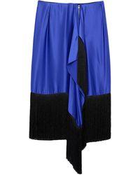Marques'Almeida Midi Skirt - Blue
