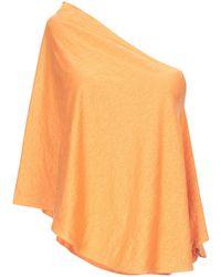Cruciani Capes & Ponchos - Orange